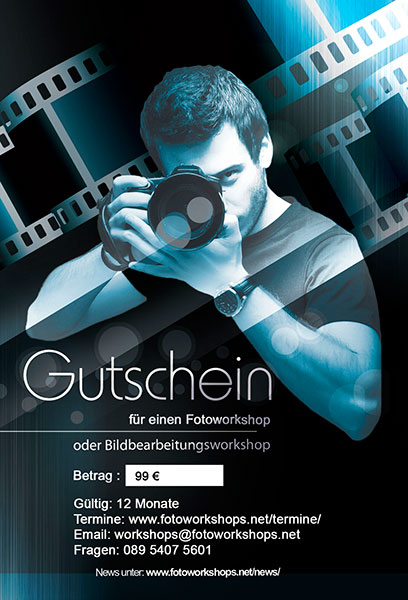 Gutschein Fotoworkshop 99?