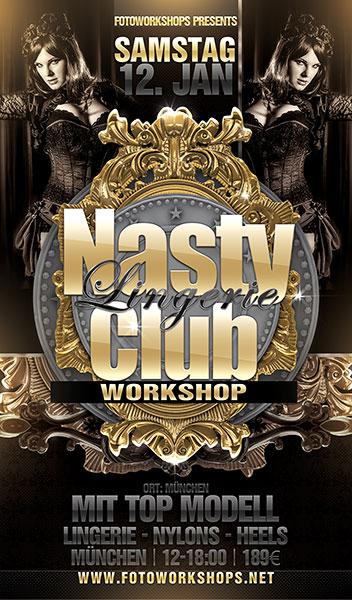 Nasty Club Foto Workshop in edler Bar