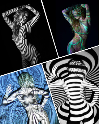 Ligh Bodypainting Akt Workshop