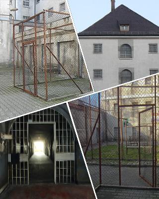 Freies Shooting im Gefängnis