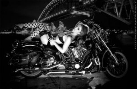 Bild vom Harley Davidson Workshop