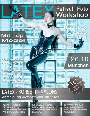 Fetisch Latex Foto Workshop 26.10.