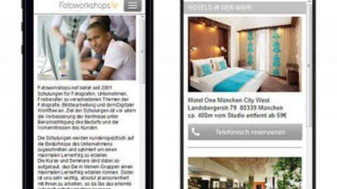 Fotoworkshops jetzt auch auf Smartphone optimierter Webseite
