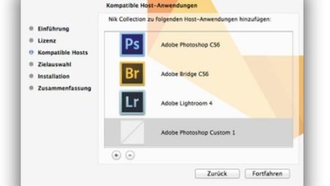 Nik Collection Probleme mit Photoshop CC lösen