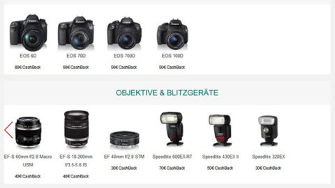 Canon Winter Cashback Promotion