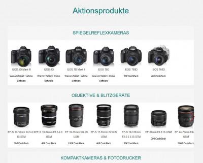 Canon Sommer Cashback
