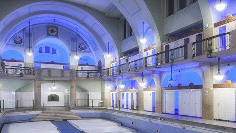 Letztes freies Nachtshooting im Jugendstilbad mit Effekt Light am 17.9.