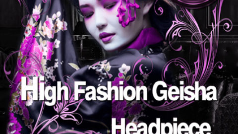 High Fashion Geisha Headpiece Workshop am 11.10.