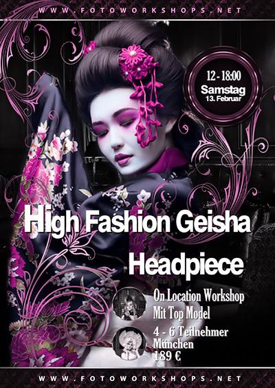 High Fashion Geisha Foto Workshop am 13.2.