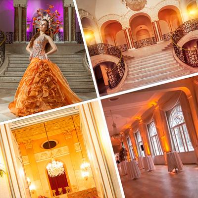 Master Class Designer Fotoworkshop im Schloss mit Top Model