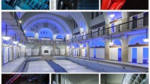 Freies Shooting im Jugendstilbad mit den fantastischen Kellergewölben und Glasbausteinfenster am 29.4.18