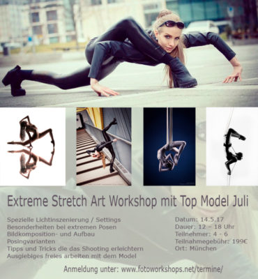Fotoworkshop Extreme Stretch Art