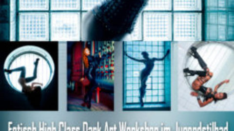 Fetisch High Class Dark Art Workshop im Jugendstilbad am 24.6.