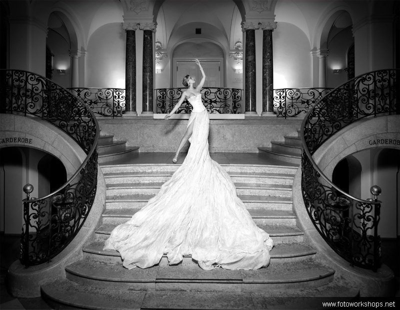 Bild vom Foto Workshop im Schloss mit Alina
