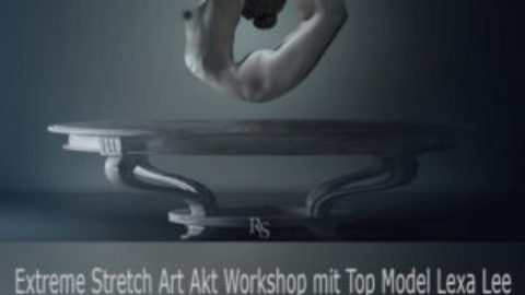 Extreme Stretch Art Akt Workshop mit Top Model Lexa Lee am 30.7.