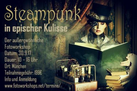 Fantasy Steampunk Workshop in epischer Kulisse am 30.9.