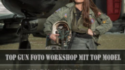 Top Gun Jet Foto Workshop mit Top Model am 10.11.18