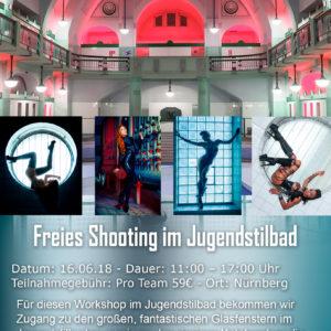 Freies Shooting im Jugendstilbad am 16.6.18