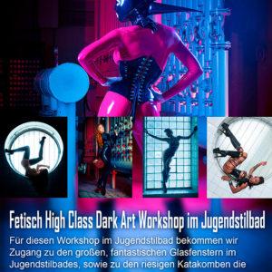 Fetisch High Class Latex Dark Art Fotoworkshop
